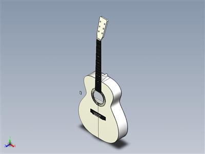 原声吉他(STEP 文件)