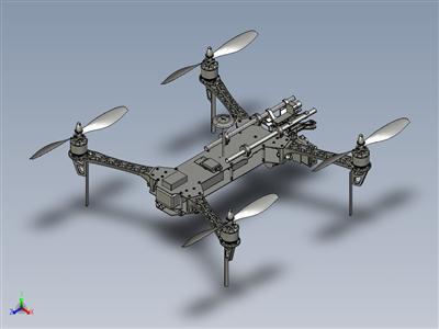 四轴飞行器模型