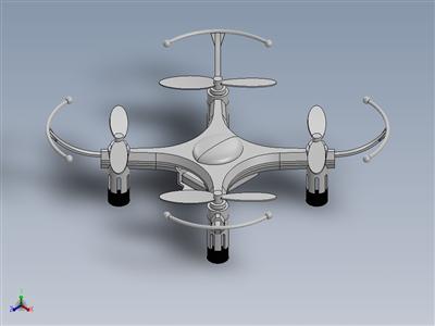 每架 H8 迷你四轴飞行器