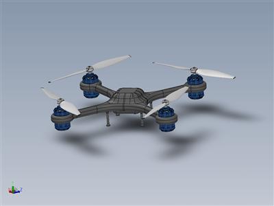 无人机四轴飞行器