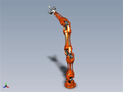NovaBot - 工业机器人设计概念