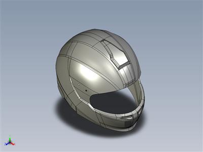 逆向工程中的头盔