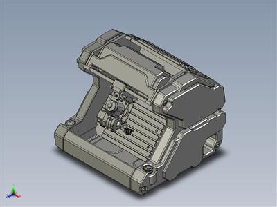 4 轴桌面 CNC 加工(概念模型)