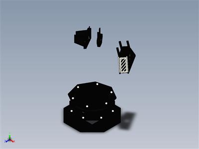 幻影X反应器机械臂