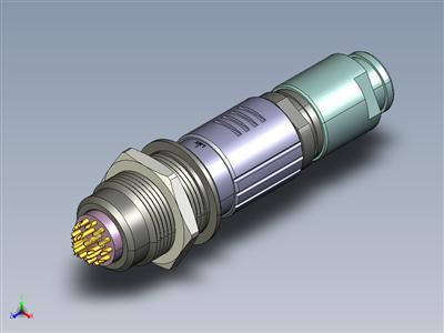20 针圆形连接器焊接类型(LMS-20、CNT21)