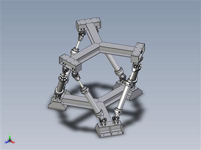 八面体六角机理(平行机器人)