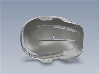 曲棍球头盔(简单)