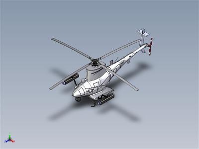 无人机-美国海军MQ-8B消防无人机直升机