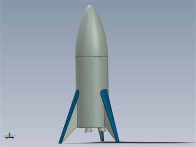 SpaceX 航天飞机模型