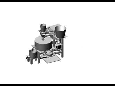 自动谷物饮料加工机 1