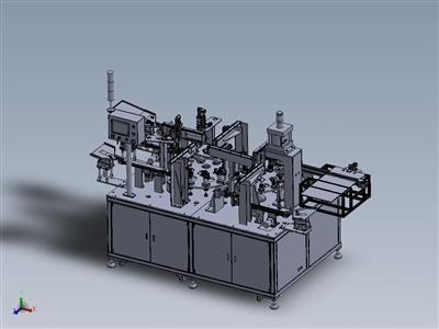 自动化汽车油封工件组装机