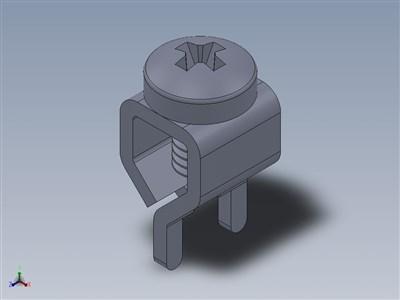 印刷电路板螺钉端子