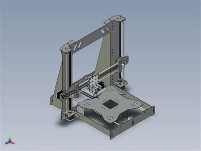 钢架3D打印机