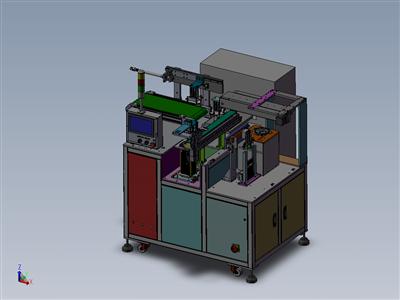 钢片胶条非标自动组装机