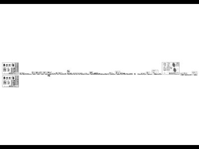 非标设备钣金机架cad工程图