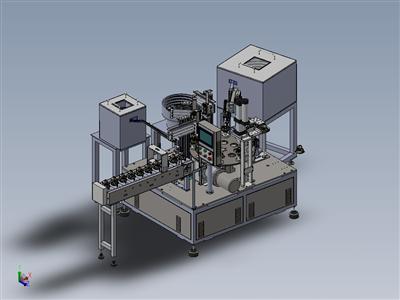 非标自动化转盘式铜片组装机