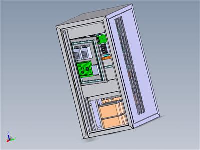 复杂的电气柜体