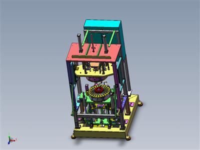 非标电机转子矫正机