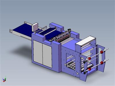 自动化侧焊接制袋机
