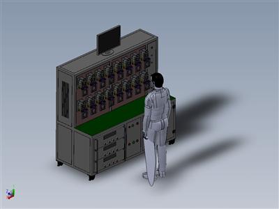 仪表测试机柜