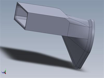 3D 可打印 CD 驱动器插槽冷却风扇适配器