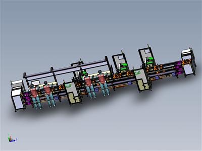 实用的非标半自动组装线、倍速输送链回流线
