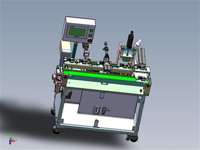 非标全自动电池壳压字机