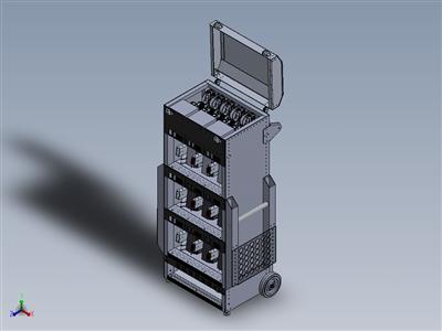铝合金猎鹰钣金电池推车