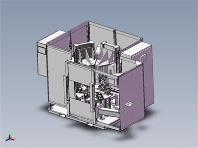 自动化六工位组装机