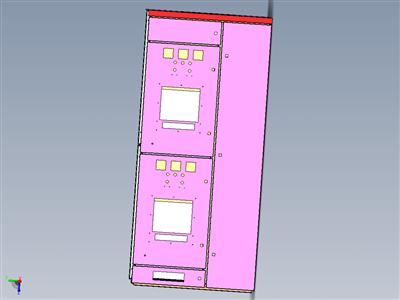 MNS-配电柜三维图通用