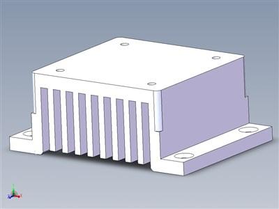 Hokuyo UST-10LX激光测距仪散热器