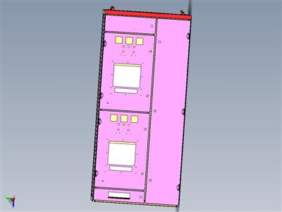 MNS-配电柜三维图