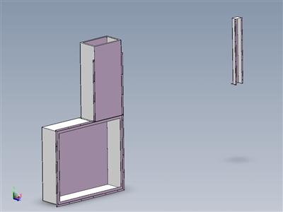 三灯UV固化机钣金外壳
