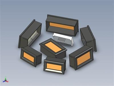 LED显示屏框架