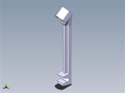 3D打印机框架V3的拖拉机支柱