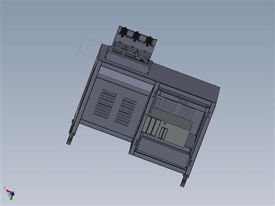 某测试机柜带13U 19寸机柜体