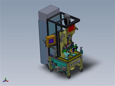 转向器轴承压装及护管翻边设备