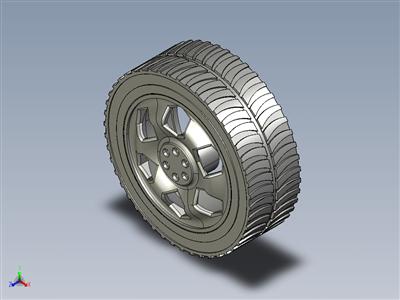轮胎越野轮辋