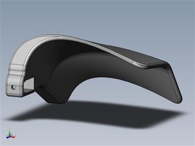3D打印车把挡风玻璃(自行车配件挑战赛;让您的通勤更轻松)