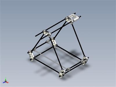 Reprap Prusa Mendel 3D打印机
