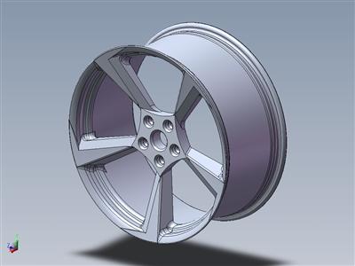 458 Italia车轮设计