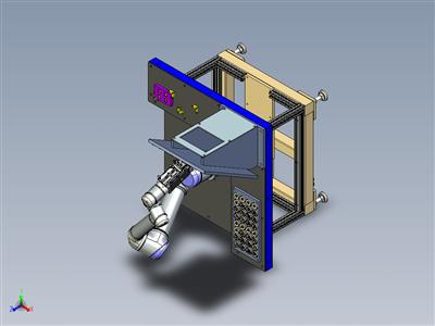 UR5机器人展示机