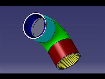 内螺纹弯管