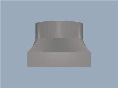 K40 激光切割机雕刻机的更换鼓风机外壳