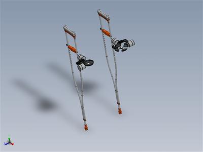 拐杖附件稳定器