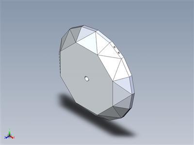 """钻石""""3D打印落蛋挑战"""""""