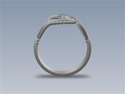钻石花戒指