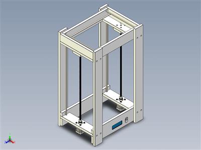 木制3D打印机框架