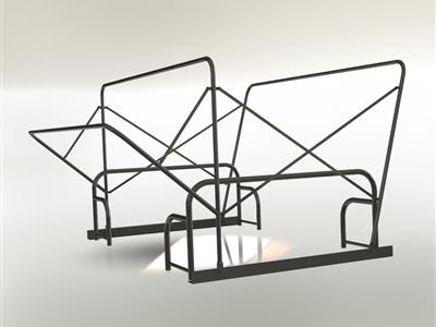 拖拉机车顶框架