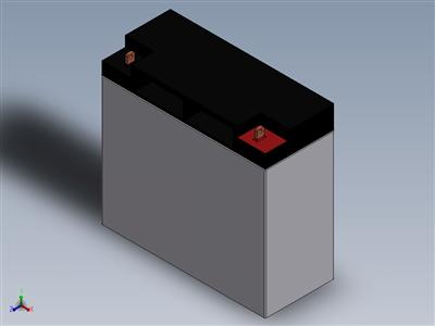 12V FRC电池